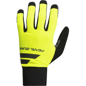 PEARL iZUMi Escape Softshell Lite Gloves Men screaming yellow/black